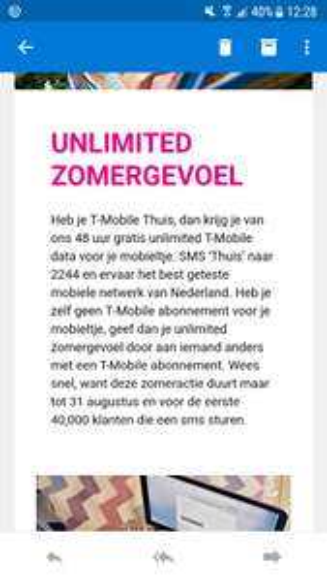 48 uur gratis internet met T-mobile Thuis