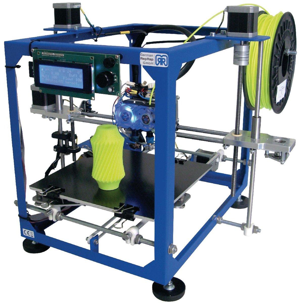 [PRIJSFOUT] German Reprap RR100440 Protos V3 Dual Extruder 3D Printer Ful Kit voor €19,95 @ Bol.com Plaza