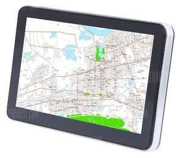 704 Win CE 6.0 7 inch Car GPS Navigation navigatie voor €28,35 @ Gearbest
