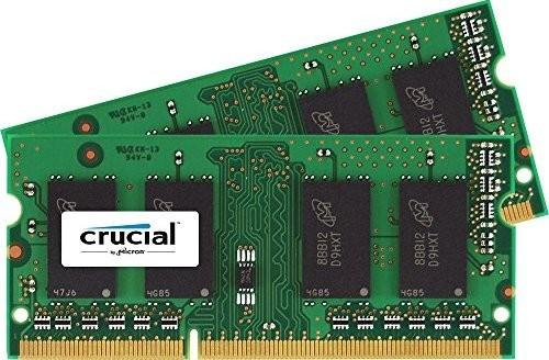 Crucial 16GB Kit (2 x 8GB) DDR3-1866 SODIMM (óók DIMM) @ Crucial.com