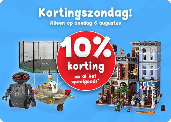Morgen 10% korting op het speelgoed @ Bart Smit