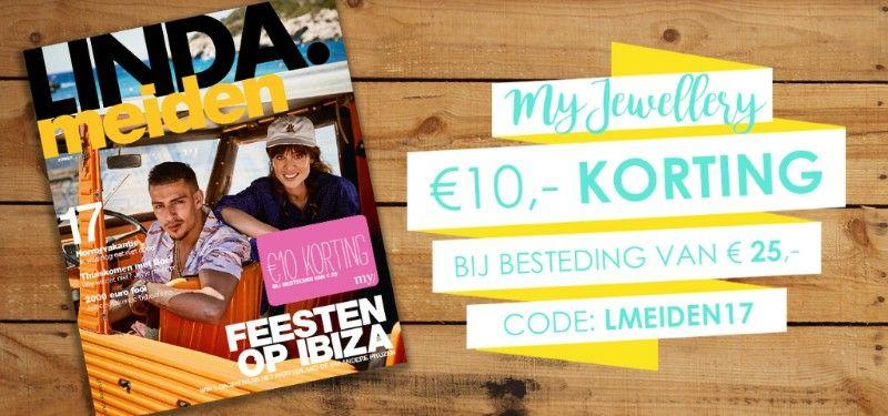 Ontvang10 euro korting @ My Jeweller