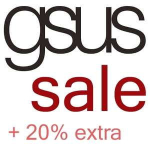 Sale tot -70 + 20% extra korting (min 3 items) @ Gsus