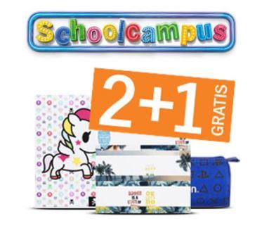 Alle schoolcampus artikelen 2+1 gratis @ AH