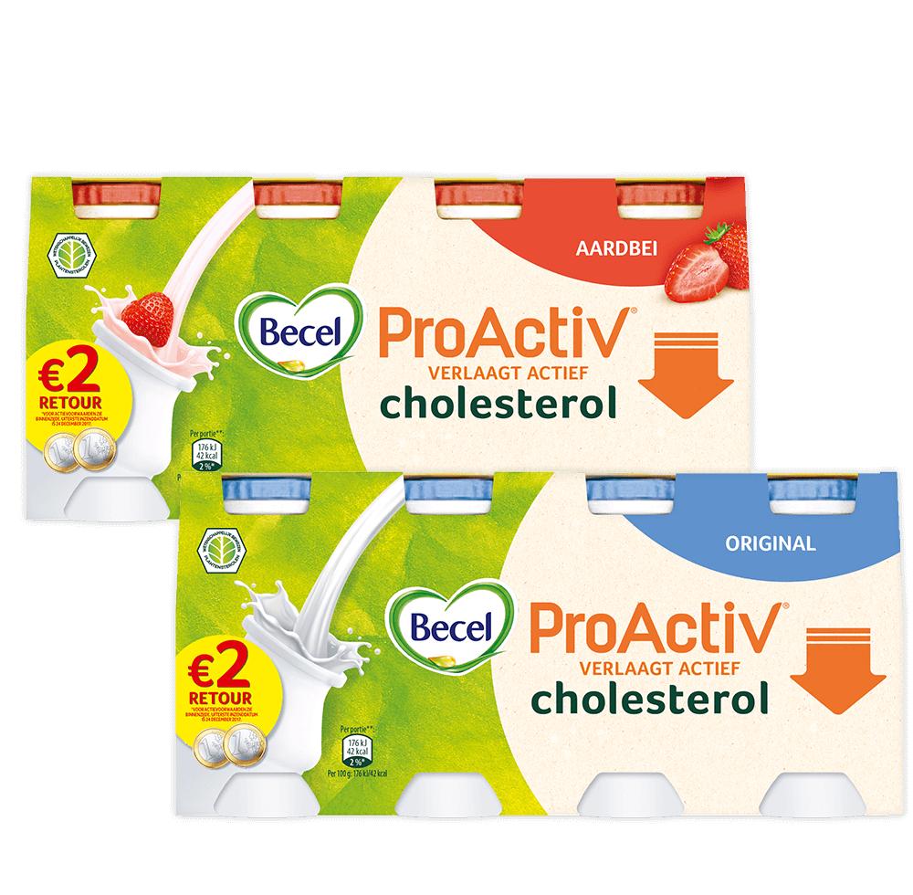 € 2,- cashback op Becel ProActiv mini yoghurtdrink @ via scoupy