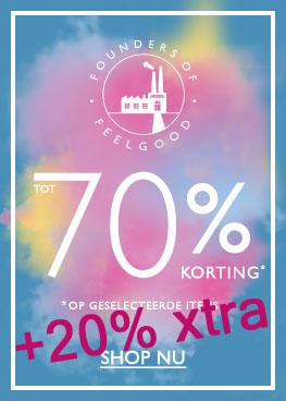 Met code 20% EXTRA korting op sale (tot -70%) @ Oasis