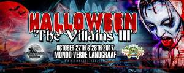 Entree voor The Villains lll tijdens Halloween @ Socialdeal