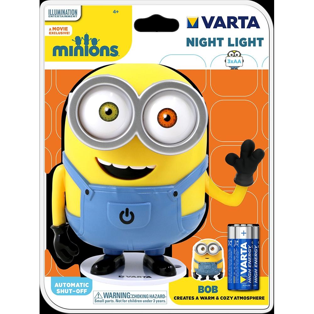 Varta 3D-nachtlamp Minions Bob voor €5,49 @ Kijkshop