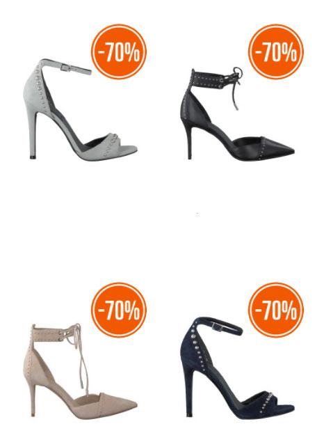 Heel veel schoenen Kendall + Kylie -70% @ Omoda