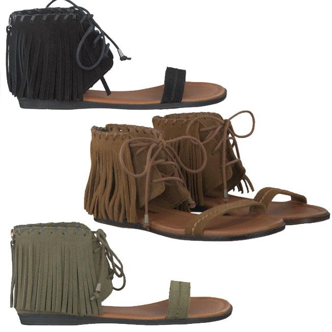 Minnetonka sandalen 70% korting nu €29,95 @ Omoda