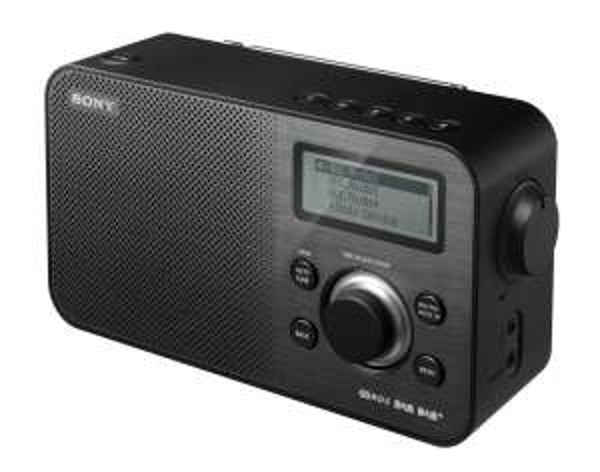 Sony XDR-S60DBPB digitale radio voor €57,66 @ Amazon.it