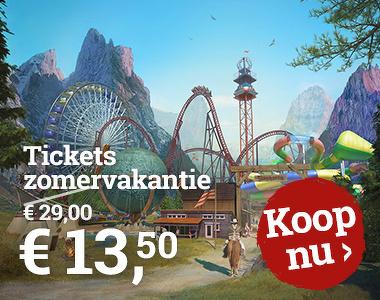 Slagharen Tickets zomervakantie voor €13,50 @ Slagharen