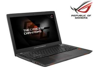 Asus Gaming-laptop ROG Strix GL553VD-DM666T voor €905,90 @ Ibood