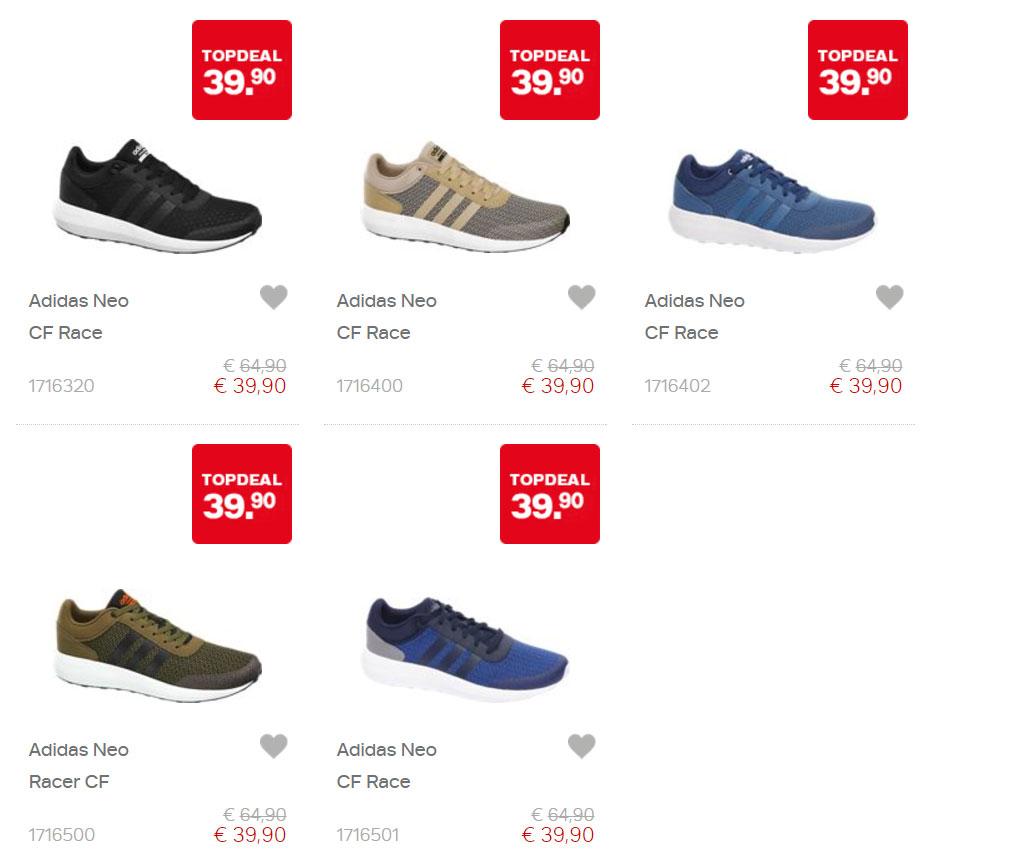 Actie: adidas Neo CF Race heren sneakers €39,90 @ Van Haren