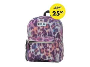 Rugzak Replay leopard allover multi color