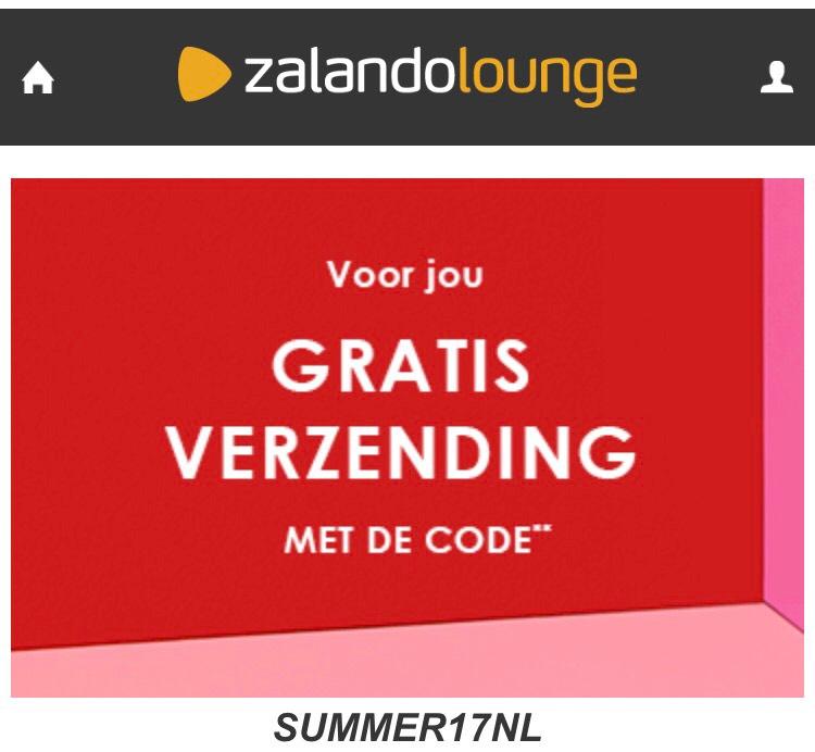Gratis verzending bij Zalando Lounge