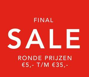 Final sale - ronde prijzen va €5 @ DIDI