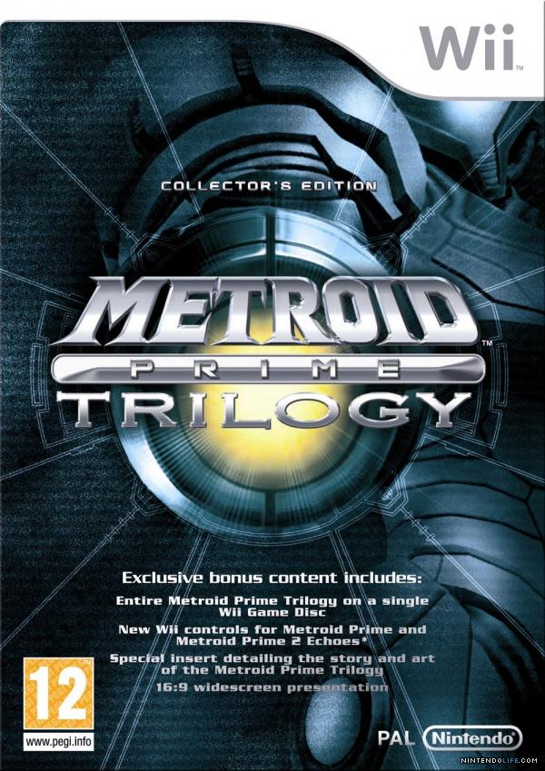Metroid Prime Trilogy (Wii)  op Wii U vanaf 29 januari voor €9,99 @ Nintendo eStore