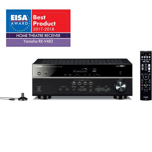 YAMAHA RX-V483 5.1-kanaals 4K Ultra HD netwerk AV-receiver voor €349 @ Hificorner