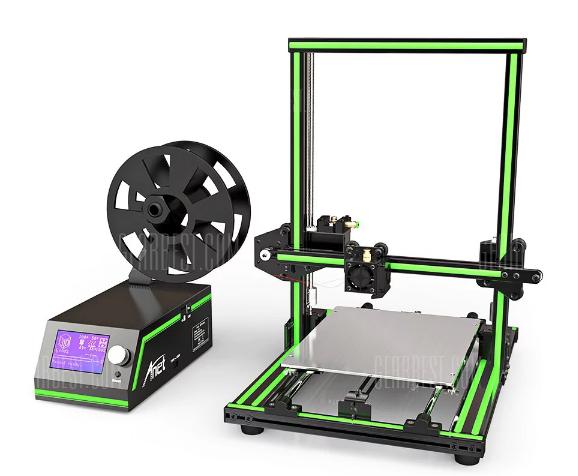 Anet E10 Aluminum Frame Multi-language 3D Printer voor €236,98 @ Gearbest
