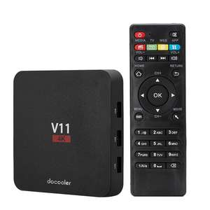 Android Kodi TV Box V11 2GB /8GB rk3229, Android 6 voor €21,49 @ TomTop