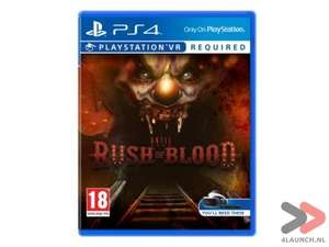 Until Dawn: Rush of Blood (PSVR) voor €15,95 @ 4Launch