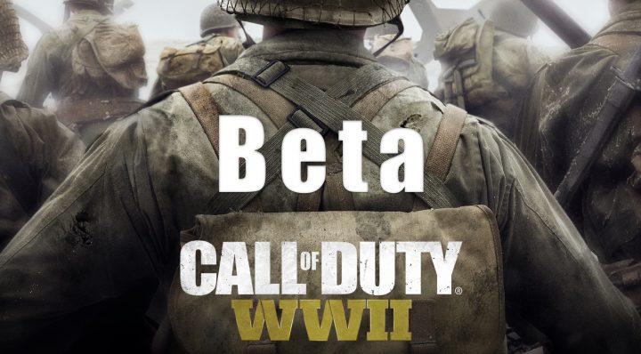 CoD: WWII beta zonder pre-order (PS4)