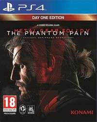 Metal Gear Solid V: The Phantom Pain (Day One Edition) voor €9 + €1,88 @ Gameshoptwente