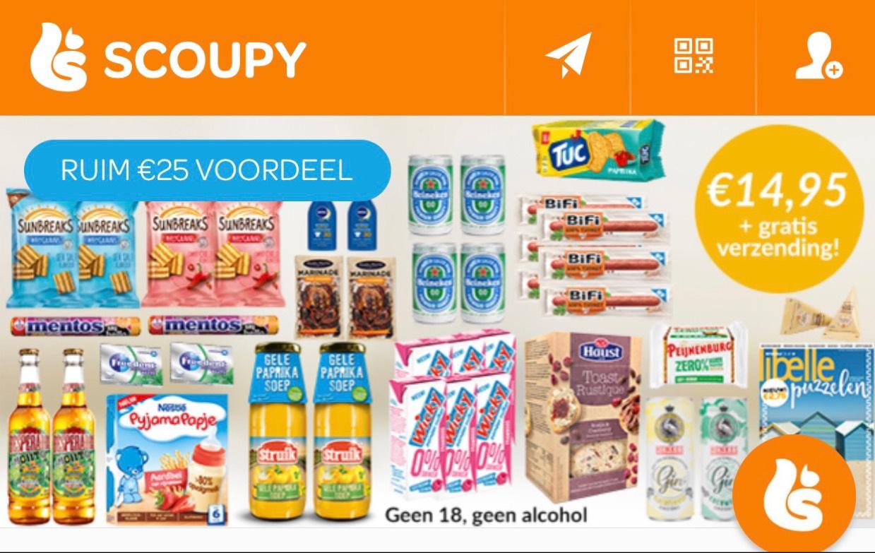 Scoupy boodschappenpakket Xl