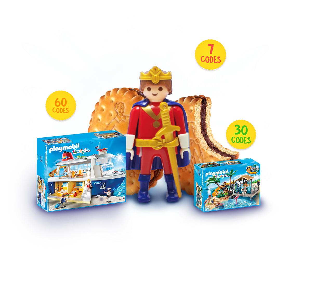 Spaar voor je Playmobil cadeau bij Lu Prince