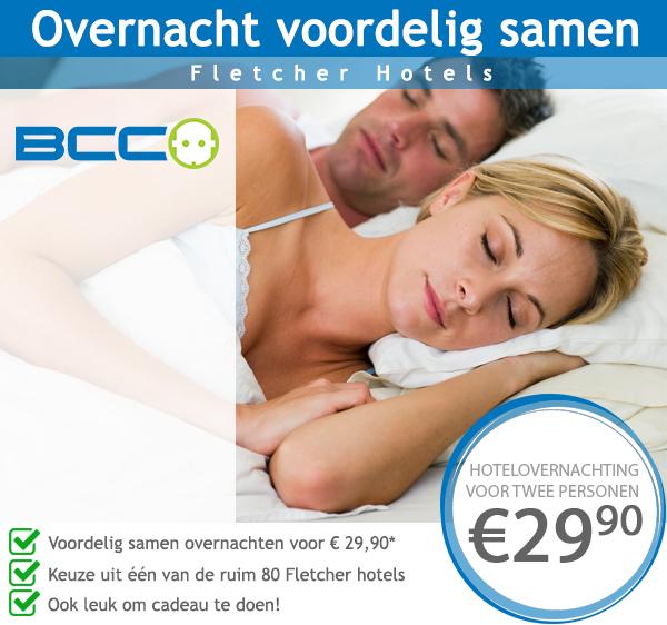 Overnachten bij Fletcher Hotels voor €14,95 p.p. zonder BCC kraskaart @ Fletcher