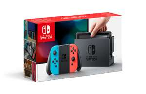 [UPDATE] Nintendo Switch (rood/blauw) voor €286,62 na code @ Amazon.co.uk