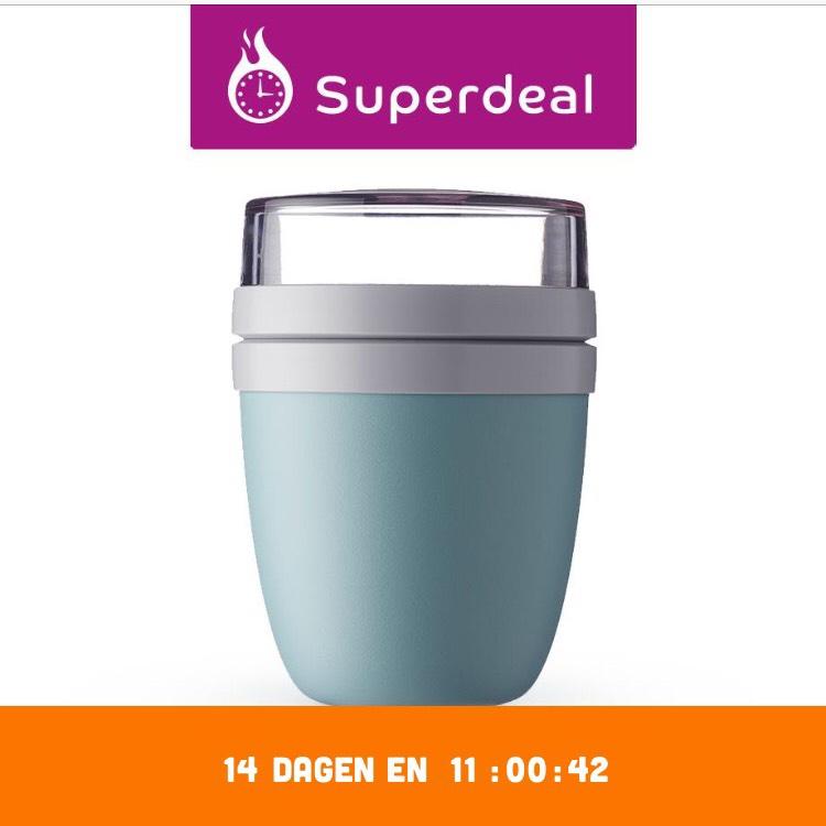 Rosti Mepal Lunchpot + drinkfles + bestek Superdeal @eurosparen