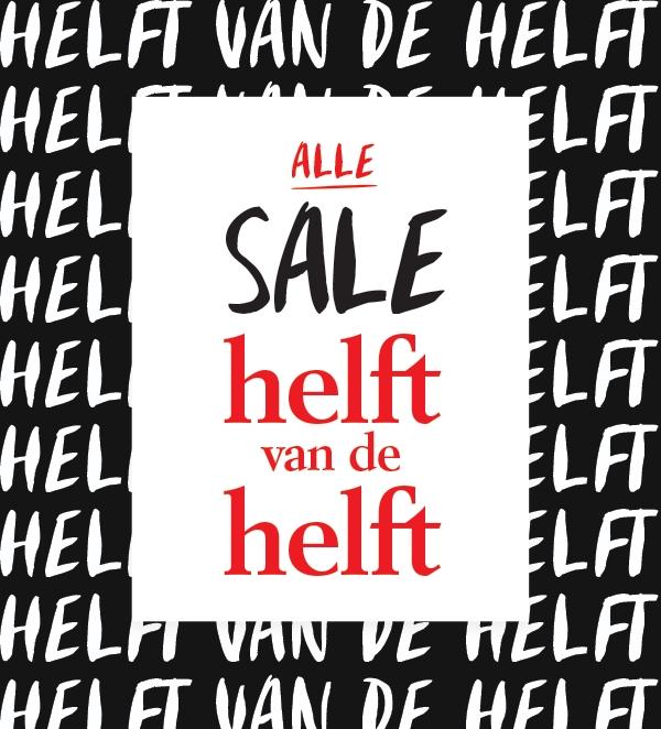 Alle Sale Helft van de Helft (-75%) @ Shoeby