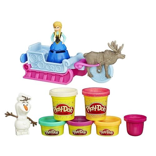 Play-Doh Disney Frozen Anna met slee voor €8,95 @ Toys 'R' Us