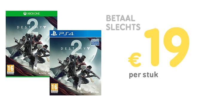 Inruilactie: Destiny 2 vanaf €19 @ Gamemania