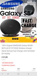 Originele Samsung convertible Wireless fast charger EP-PG950 voor €21,82 @ AliExpress