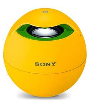 Sony Draadloze Speaker SRS-BTV5 (geel) voor €29,95 @ GSMpunt