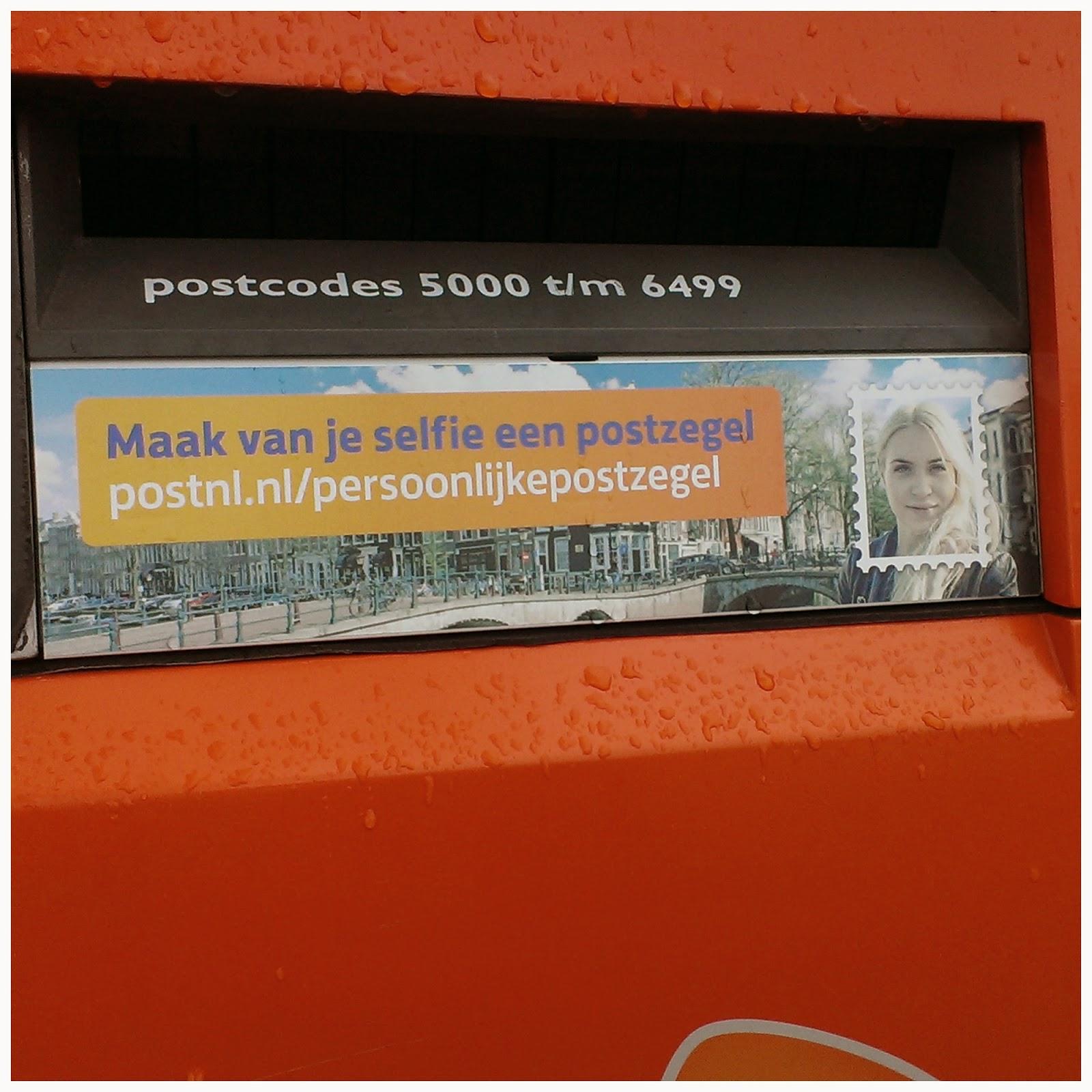Maak je eigen Persoonlijke Postzegel voor €9,95 @ PostNL