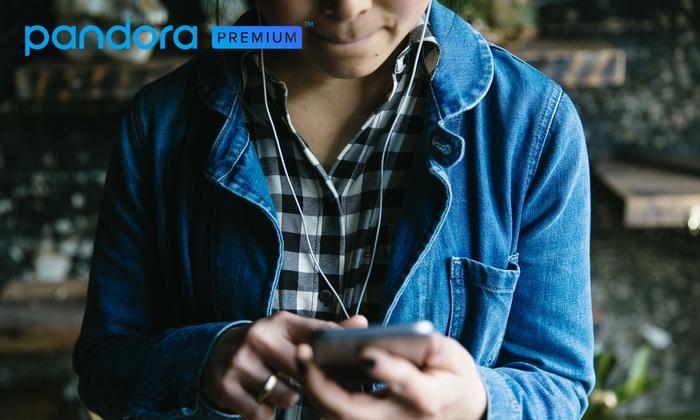 Gratis Unlimited Pandora Music @ Groupon