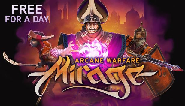 Game Mirage: Arcane Warfare alleen vandaag gratis (vanaf 19:00) @ Steam