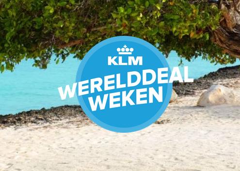 Wererelddeal Weken KLM
