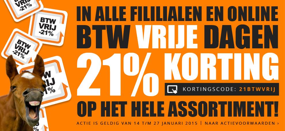 21% BTW korting op bijna alles door kortingscode @ Epplejeck