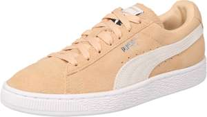 Puma sneakers in nude suède €23,90 @ About You