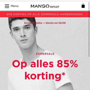 Mango Outlet 85% korting