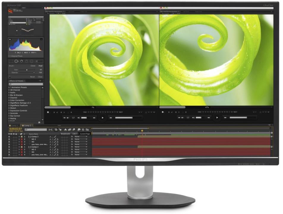 "Philips 31.5"" UHD Monitor @ voor €350,95 Sicomputers"