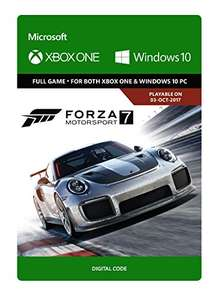 Forza Motorsport 7: Standard Edition (Xbox One/WIN 10 - Download Code)