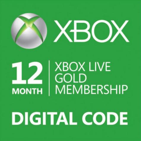 1 jaar Xbox Live  Gold voor € 33,75