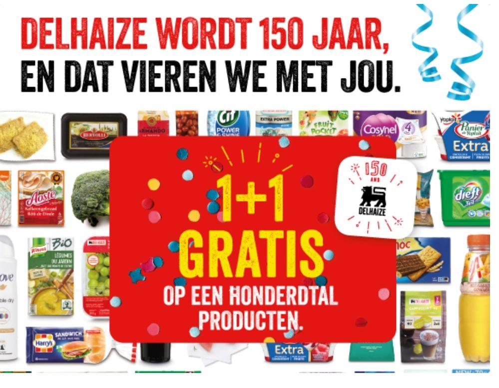 1+1 gratis oa Dolce gusto cups voor €2,89 @ Delhaize (België)