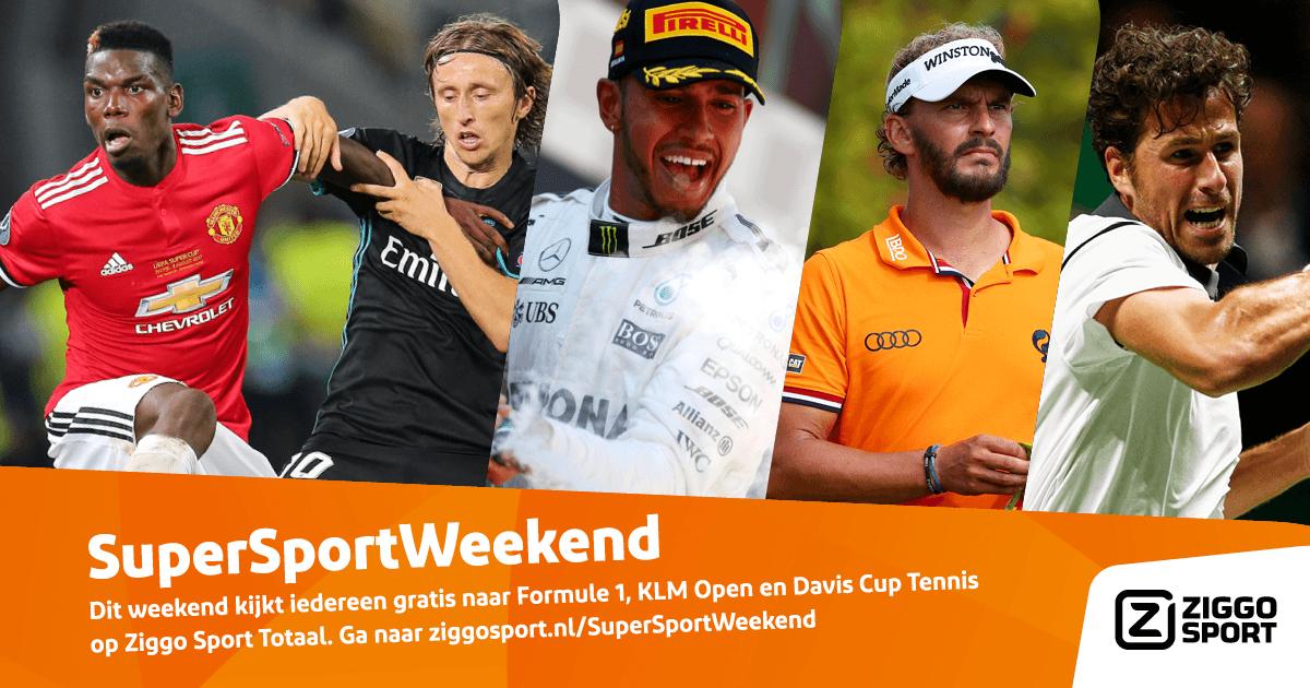 [REMINDER] SuperSportWeekend: Ziggo Sport Totaal gratis voor iedereen van 15 t/m 17 september